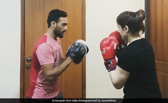 सलमान खान की एक्ट्रेस ने इस शख़्स पर जमकर बरसाए घूंसे, video हुआ वायरल
