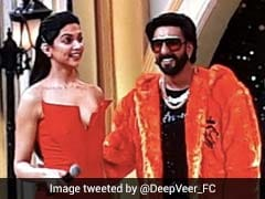 Deepika Padukone, Ranveer Singh's <I><del>Saat</del> Teen Phere</i> At Award Night
