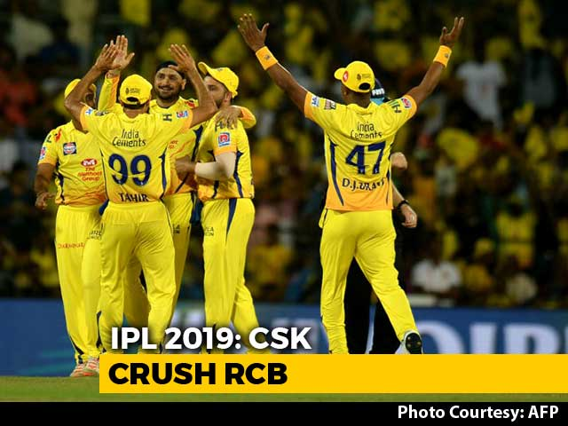 Video : IPL 2019: CSK Beat RCB By 7 Wickets