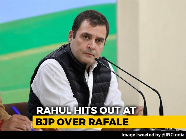 "Video : PM ""Performed Bypass Surgery"" In Rafale Deal, Probe Him Too: Rahul Gandhi"