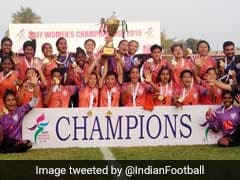 India Beat Nepal To Win 5th Successive SAFF Women