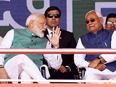 PM Modi Helped To Develop Bihar, Says Bihar Chief Minister Nitish Kumar
