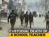 Video : J&K Teacher Arrested For Alleged Links With Terrorists Dies In Custody