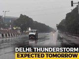 Video : Rain Likely In Delhi, Suburbs For Next 3 Days