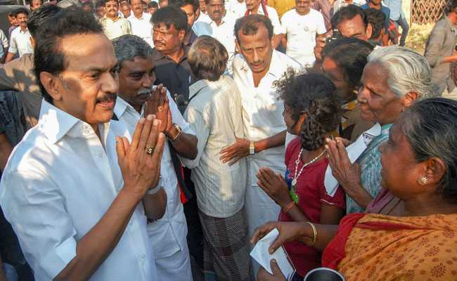MK Stalin Launches Poll Campaign From Father M Karunanidhi's Birthplace