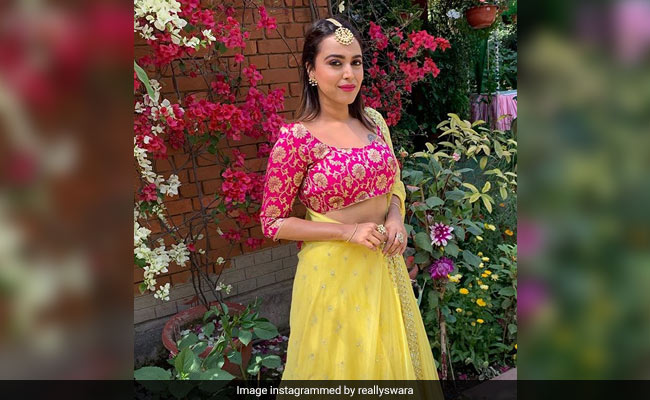 Swara Bhasker Paints 'Real Veere Di Wedding' With Summer Colours And The Pics Are Fab