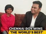 Video : AR Rahman Felicitates Chennai's Piano Prodigy Lydian Nadhaswaram
