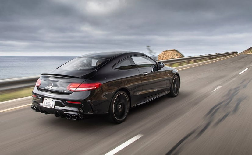 Mercedes C43 Amg Coupe >> Mercedes Amg C43 Coupe Launched In India Priced At Rs 75