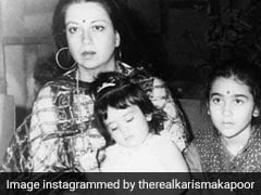 Women's Day 2019: Karisma Kapoor's Post, Featuring Kareena And Babita Is Pure Gold