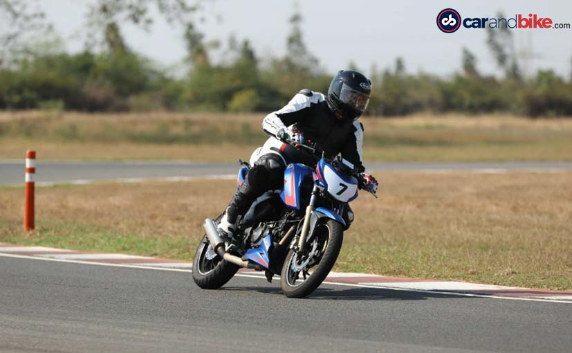 We join the 2019 edition of the TVS Young Media Racer Program at MMRT in Chennai