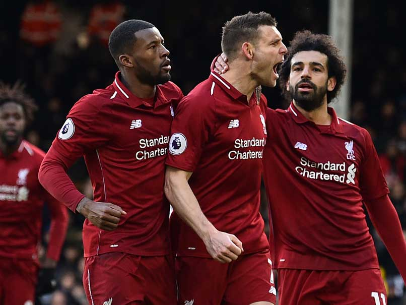 Liverpool Survive Fulham Scare To Go Top Of Premier League, Chelsea Lose To Everton