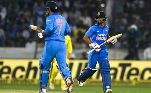 India vs Australia 1st ODI highlights and match updates; India won Australia In Hyderabad
