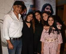 Pranutan's Family Kajol, Tanishaa And Mohnish Bahl Watch Her Film, Produced By Salman Khan