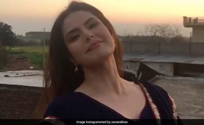 Zareen Khan ने भोजपुरी सॉन्ग पर ढाया कहर, खूब देखा जा रहा है Video