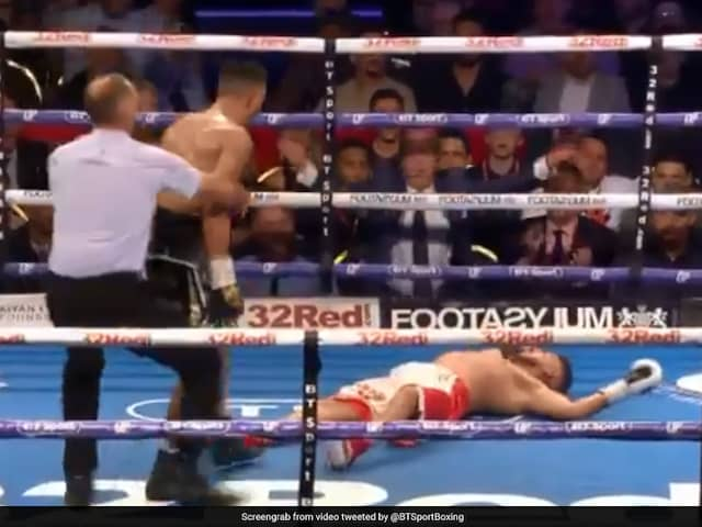 Watch: Boxer Gets Ultimate Revenge On Taunting Opponent With Stunning Knockout