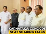 Video : In Congress, HD Kumaraswamy Seat-Sharing Talks, Flexibility The Key Word