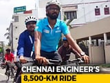Video : This Indian Is Cycling From Chennai To Germany To Help Trafficked Victims