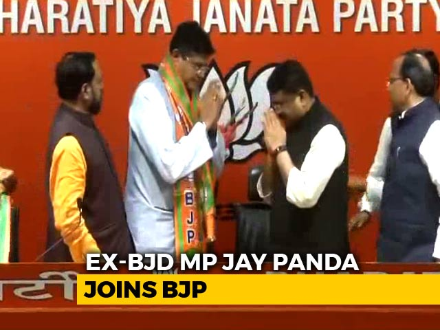 "Video : ""Admire PM Modi, Amit Shah's Leadership"": Jay Panda On Joining BJP"