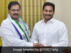 Named Chandrababu Naidu's Party Candidate, With YSR Congress Hours Later