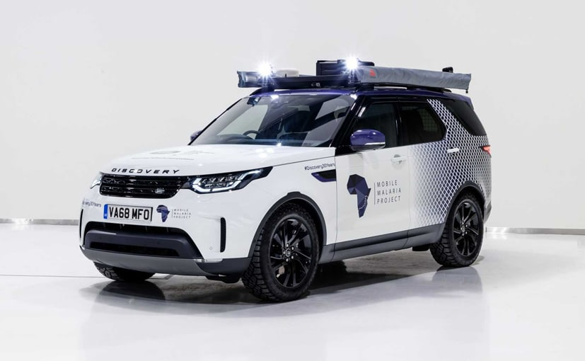 The Land Rover Discovery has embarked on its eight-week expedition