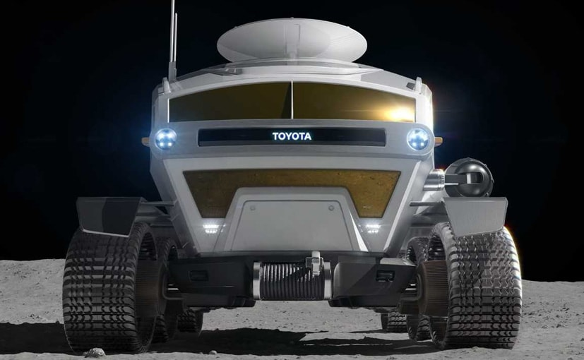 Toyota aims for the moon with fuel cell lunar rover