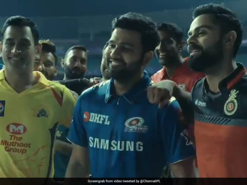 IPL 2019 Anthem: MS Dhoni Outsmarts, Virat Kohli Dares Youngsters - Watch