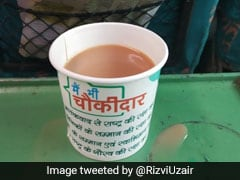 "Railways Withdraws ""<i>Main Bhi Chowkidar</i>"" Tea Cups After Viral Photo"