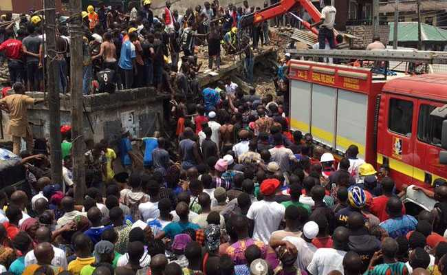 100 Children Feared Trapped As School Building Collapses In Nigeria