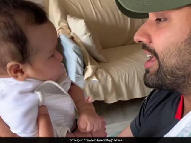IPL 2019: Watch BIG BS Reaction About  Rohit Sharmas  Gully Boy Rap Sings To His Daughter Samaira