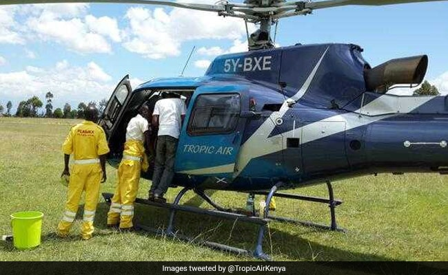 Kenya helicopter crash kills 4 Americans, pilot