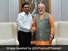 New Goa Chief Minister Calls On PM Modi, President During First Delhi Trip