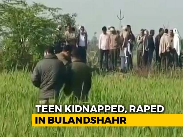 "Video : ""Bhaisahab Need Time,"" Cop Says On Arrests After UP Teen Kidnapped, Raped"