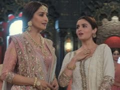 'Don't Ask,' Tweets Alia Bhatt When Asked How She Danced In <I>Kalank</I> Song With Madhuri Dixit Looking On