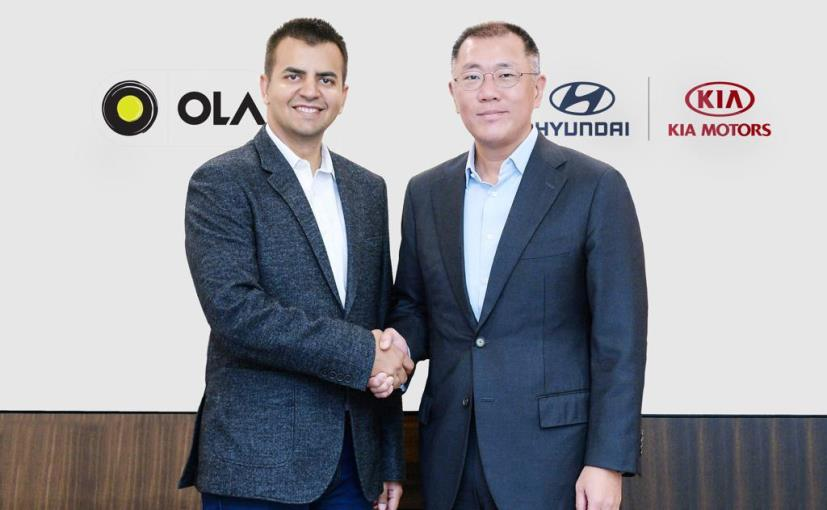 Hyundai Motor, Kia to invest $300 million in Ola