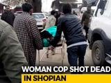 Video : Special Police Officer Shot Dead Outside Her House In J&K's Shopian