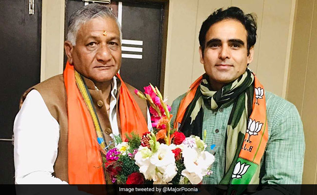 """An Honour If PM Asks Me To Fight Against Sonia Gandhi"", Says Ex-Soldier"