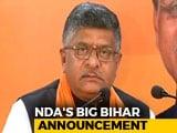 Video : Not Shatrughan Sinha, BJP Fields Ravi Shankar Prasad From Patna Sahib