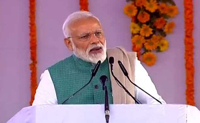 PM Modi Addressed Rally At Rahul Gandhi's Bastion Amethi: Highlights