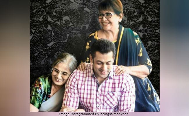 Women's Day 2019: Salman Khan's Post, Featuring His Mothers Salma Khan And Helen, Wins Hearts