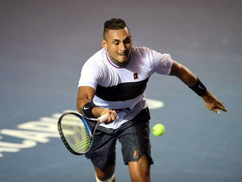 Nick Kyrgios Beats Stan Wawrinka To Reach Acapulco Semi-Finals