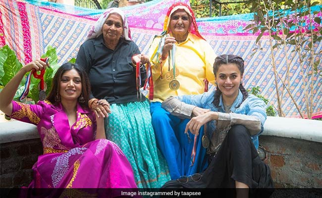 Saand Ki Aankh: Inside Taapsee Pannu And Bhumi Pednekar's Prep Session For The Film
