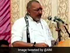 Minister Giriraj Singh Shares Stage With Bihar Shelter Home Case Accused