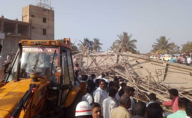 12 Dead In Karnataka Building Collapse, 10 Still Feared Trapped 3 Days On