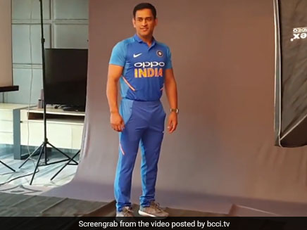 07c49cfec71 Team India New Jersey Launched Ahead Of Australia ODI Series