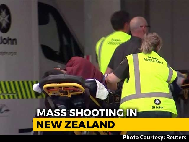 Video : Multiple Fatalities In New Zealand Mosque Shooting, Gunman Still Active