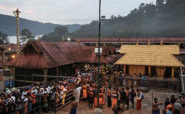 New Gold-Plated Door For Sabarimala Ahead Of Pujas Next Week