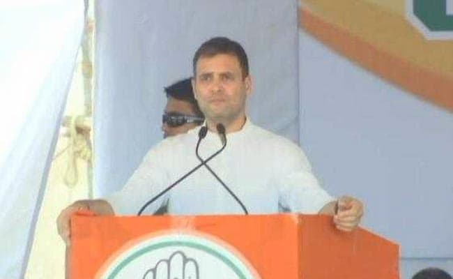 Vote For TRS Means Vote For PM Modi: Rahul In Telangana: Highlights