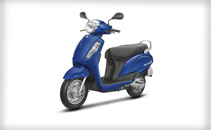 Suzuki Access 125 Drum Brake With CBS Launched; Priced At &#8377 56,667