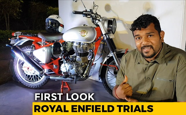 Royal Enfield Trials First Look