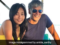 Pics From Milind Soman And Ankita Konwar's Maldives Vacation Will Make You Go Green With Envy
